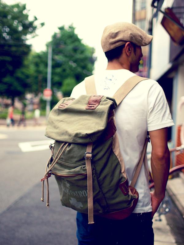Rugby / Canvas Camper Backpack