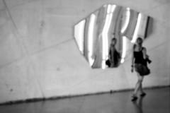 mirror mirror on the wall... (...storrao...) Tags: blackandwhite bw reflection portugal smile espelho nikon noiretblanc retrato mirrors nb bn porto reflexo maree cdm pretobranco casadamsica d90 storrao sofiatorro nikond90bw mareevisitingporto withmareeatcasadamsica