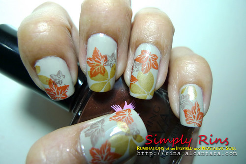 Nail Art Autumn 04