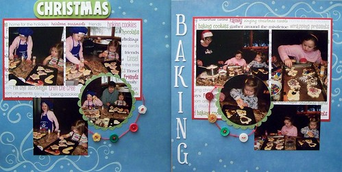 Phyllis-Grandchildren Xmas Baking