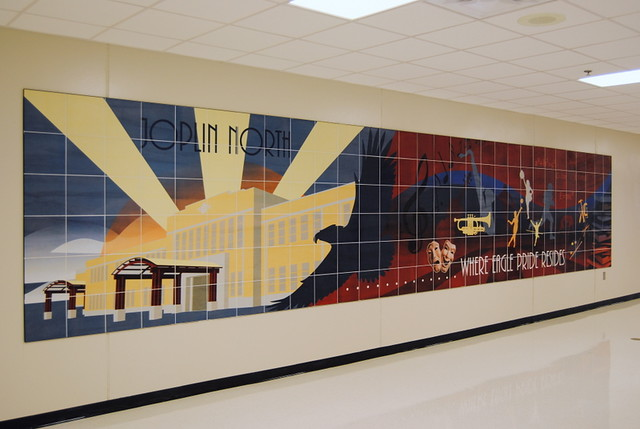 Joplin North Middle School Mural 03