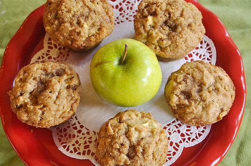 Apple Strusel Muffins