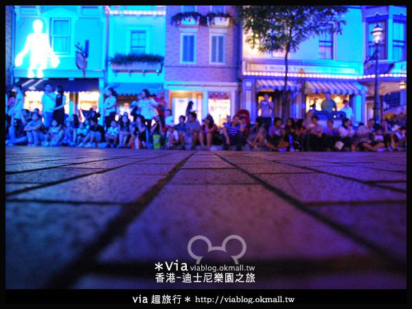 【香港旅遊】跟著via玩香港(2)~迪士尼萬聖節夜間遊行超精彩!4