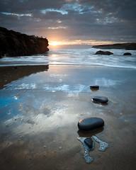 Wilder ranch sunset #2 (Diego Tabango) Tags: ocean california santa sunset usa santacruz beach water reflections outdoors nikon rocks pacific cruz nikkor filters lightroom wilderranch d700 diegotabango