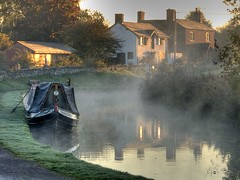 Dawn on the Whitchurch arm (velton) Tags: canal shropshire hdr llangollen velton