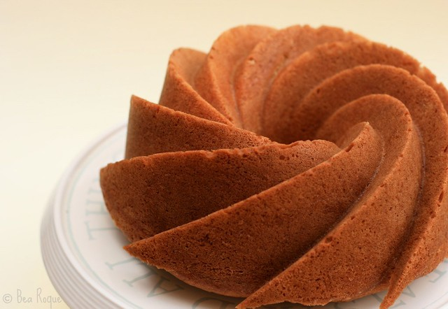 Lemon Ginger & Pepper Bundt Cake