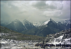 ROHTANG PASS (manumint-[BUSY]) Tags: travel summer horses india snow tourism tourist