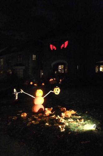 snowman/jackolantern