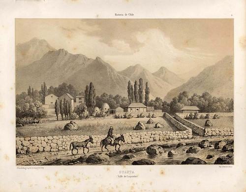 007-Guanta-Valle de Coquimbo-Atlas de la historia física y política de Chile-1854-Claudio Gay