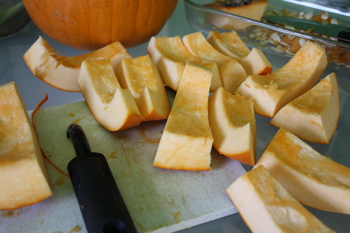Pumpkin Puree Step Two
