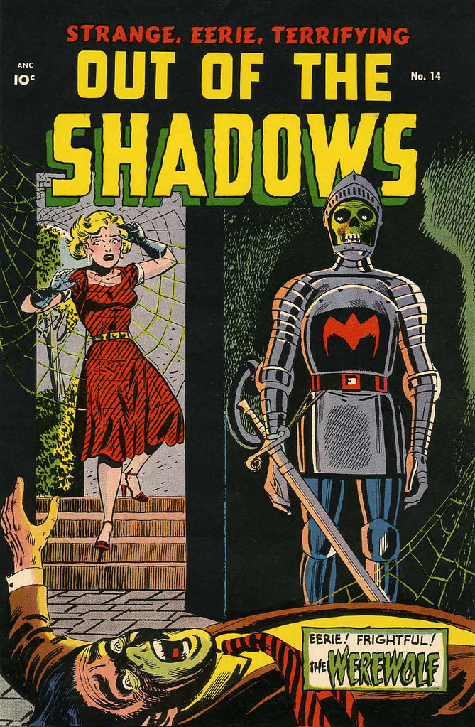 Out of the Shadows #14 (Standard, 1954)