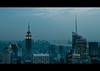 Gotham (RBudhu) Tags: newyorkcity rockefellercenter timessquare empirestatebuilding gothamist bluehour statueofliberty gotham lowermanhattan topoftherock 30rock gothamcity bankofamericatower midtownskyline newyorkcitysunset flickraward midtownmanhattanskyline empirestateofmind bluehournewyork