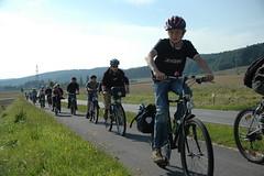 Erlebnistage mit dem Fahrrad 2008