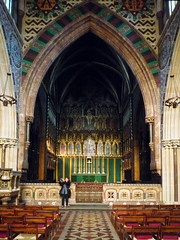 Altar, William Butterfield, All Saints Margaret Street, London