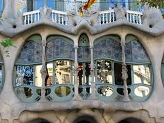 Casa Batll (ANNA ALESI) Tags: barcelona finestra espana modernismo barcellona spagna gaud catalogna eixample casabatll pgdegrcia manzanadelladiscordia