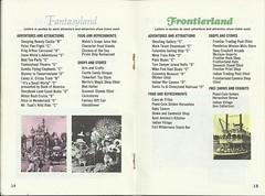 1968 Disneyland Guide Book (Stabbur's Master) Tags: california disneyland 1968disneyland disneylandguidebook 1960s 1960sdisneylandguidebook 1968disneylandguidebook 1960sdisneyland vintagedisneyland fantasyland frontierland