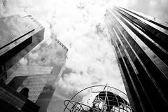 Feel So High (TRPNYC) Tags: columbus circle manhattan city nyc streetphotography centralpark bw black white building world high rise pattern sky dark light canon canon6d 2470mm
