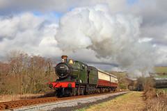 South Devon Steam (Treflyn) Tags: great western railway 2251 class 060 3205 steam hill buckfastleigh south devon tle timeline events photographic charter gwr