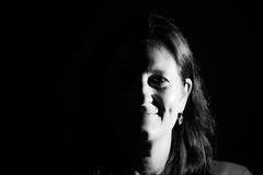 2017_Wk27_Half&Half (Pablolo Photo) Tags: bw portrait betterhalf wife sidelight monochrome bnw blackandwhite family