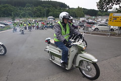 IMG_9358 (Christophe BAY) Tags: mobyltettes francorchamps 2017 rétromobile club spa circuit moto vespa camino flandria