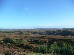 View from Doon Rock (bettlebrox) Tags: autumn trees ireland winter landscape bluesky eire mick bog 2009 donegal countydonegal tirconnell doonrock mickt
