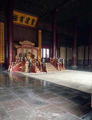 Forbidden City Throne Room