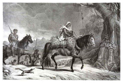 030-Botocudos-Buris-Patachos y Macharis-Voyage pittoresque et historique au Brésil- Jean Baptiste Debret 1834-1839 (2)