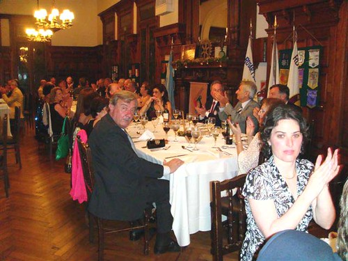 Cena fin año 09 Vista general 2