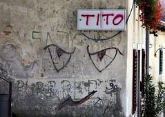 Labin grafitti (lino.janco) Tags: istria labin kvarner