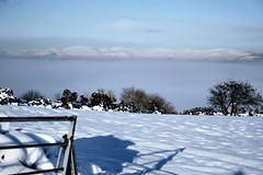Radiation Fog in the Forth/Clyde Valley. (ScotiaIsles) Tags: winter snow mountains weather fog scotland frozen edinburgh december gloomy fife aviation forth pollution environment inversion climatechange climate renfrew linlithgow severeweather westlothian ochilhills turnhouse edinburghairport abbotsinch temperatureinversion industrialpollution heavyindustries cleanairact radiationfog atmosphericstability whitechristmas2009scotland whitechristmas2009 moresnowinscotland forthclydevalley whitechristmas2009westlothian forthclydevalleyfog historicweatherexpertwitness snowwestlothian