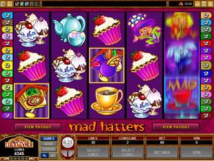 Mad Hatters slot game online review