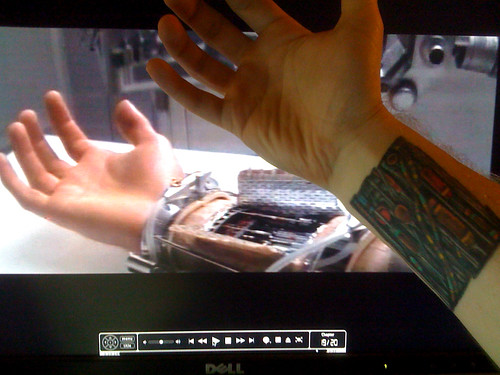 Lukes robotic arm reference