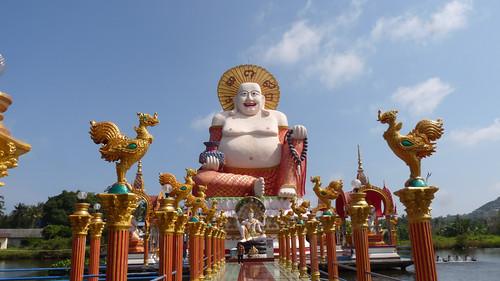 Koh Samui Wat Plailaem コサムイ プラレム寺1
