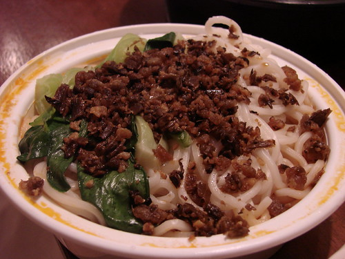 Dan Dan Noodles from Lan Sheng