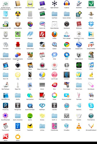 icons osx apps