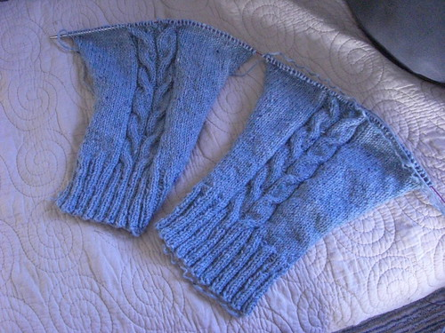 Sleeves - First 77 Rows