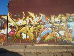 VOGES (ES.GEE.) Tags: art graffiti colorado grafiti graf pueblo vogue graff burner legal wildstyle rtd pueblocolorado vogues legalwall productionwall