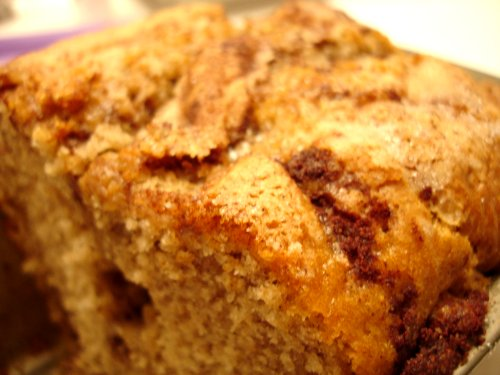 Cinnamon Bread Take 1 close up