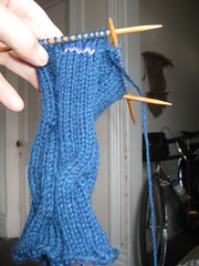 Dashing fingerless mitts