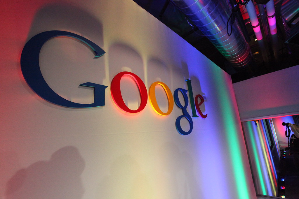 Google Logo in Building43 by Robert Scoble, on Flickr