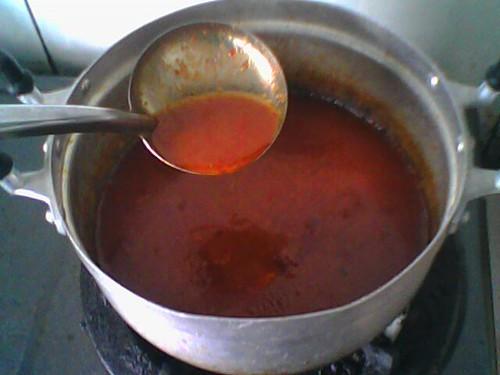 Masak sambal sardin