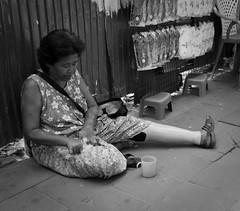 amputee (Adrian in Bangkok) Tags: life street people urban bw asian thailand blackwhite asia raw bangkok streetphotography documentary social thai streetphoto thailnad dococ