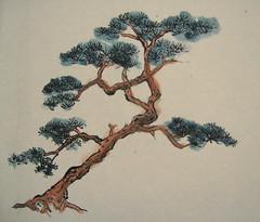 Backed Pine Tree
