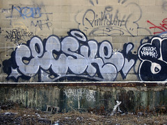 CECSKE (i_follow) Tags: pink urban art up graffiti track tag side smith throw tak fill in cecs throwie phonoh cecster cecske