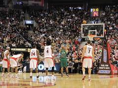 Raps vs. Celtics