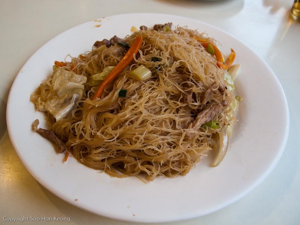 Fried Mee Hon @ Yehliu, Taiwan