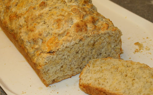 Cheddar and Dill Beer Bread