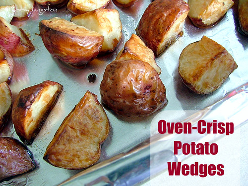 Oven-Crisp Potato Wedges