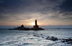 Sunrise in Kanyakumari, Tamil Nadu, India