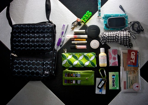 what's in my bag  01.13.10